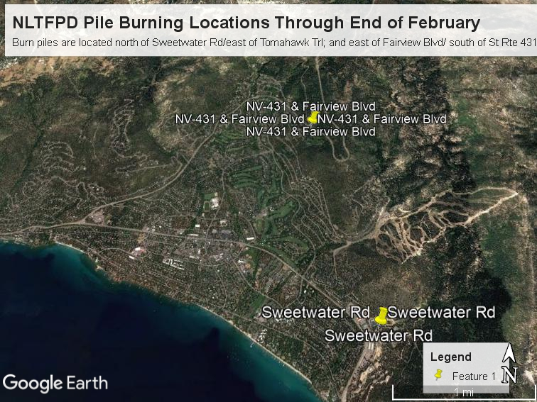 NLTFPD Pile Burn Locations Through End of February 2.5.2021