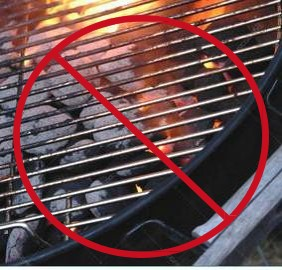 CHARCOAL FIRE RESTRICTIONS EFFECTIVE IMMEDIATELY