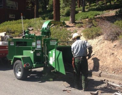 Chipping & North Lake Tahoe Fire District Defensible Space Services Begin June 1, 2020