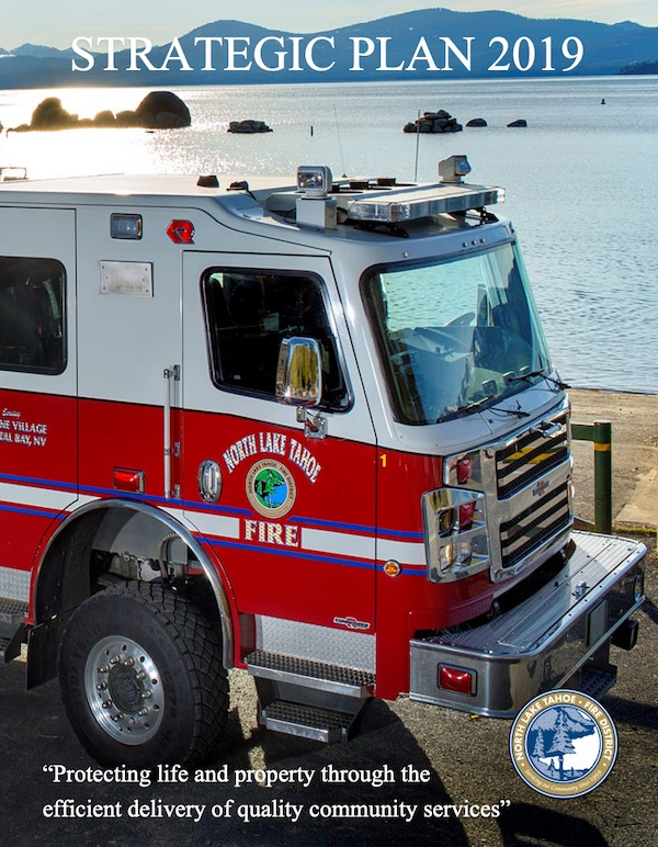 North Lake Tahoe Fire District Strategic Plan 2019 cover image